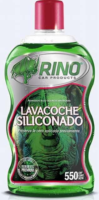 Lavacoche siliconado rino 550cc