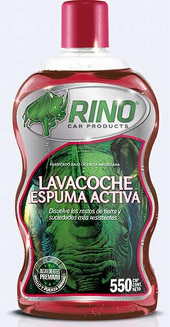 Lavacoche espuma activa rino 550cc