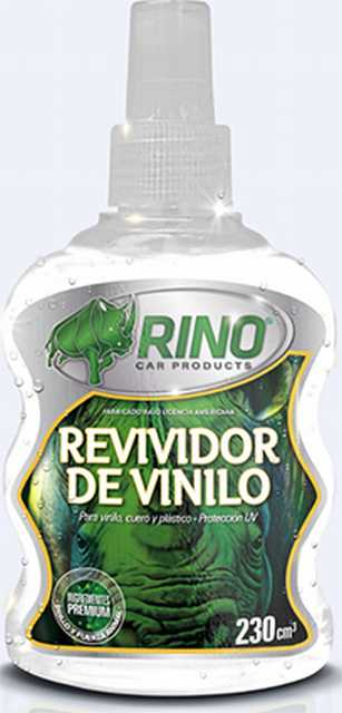 Revividor de vinilo rino c/atomizador 230cc
