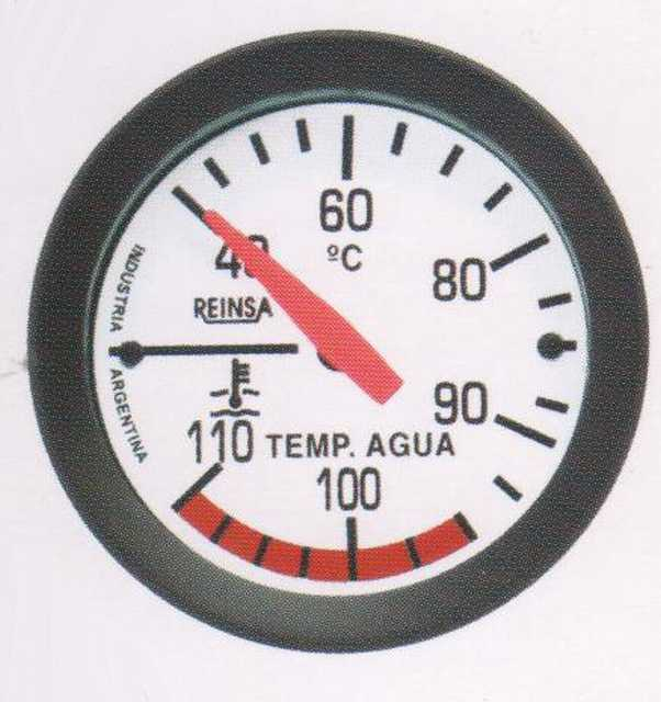 Temperatura mec. cap. reinsa 2,00 mts. 52 mm blanco