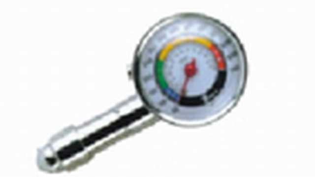 Medidor de presion tipo  reloj metalico c-valv. retencion
