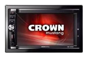 Radio digital crown mustang pantalla 6.2 bluetooth sd-usb