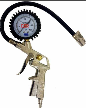 Medidor de presion beyca pistola infla-mide 0-120 psi