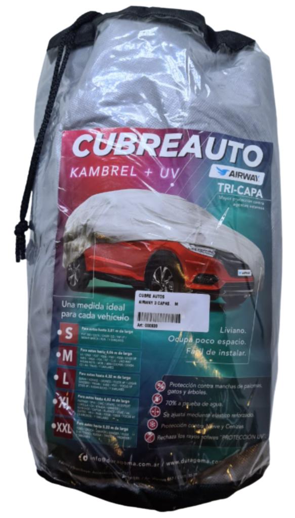 Cubre auto bicapa impermeable l 3.30x5.80 308 focus bora