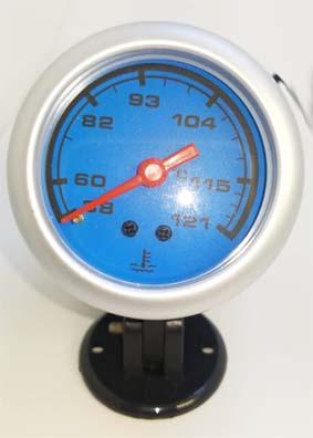 Temp. agua importado 52mm fondo azul
