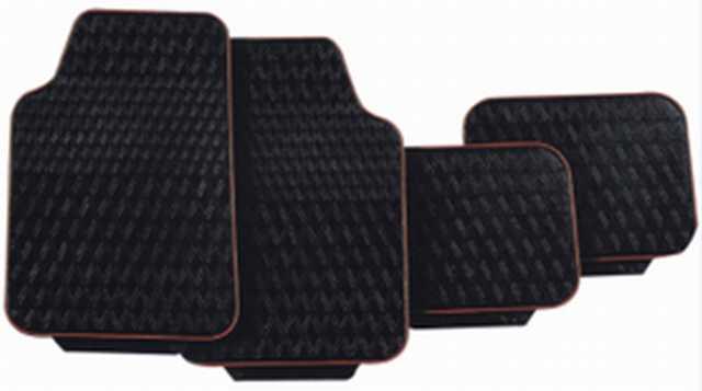 Cubre alfombra 4 piezas fallada